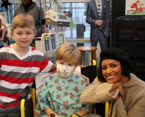 Seacrest Studios Rolled Into 2019 With Actress, Kat Graham!