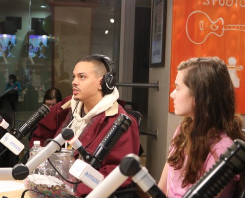 The Legacy Continues - Evan Ross And Austin Brown Captivate Seacrest Studios