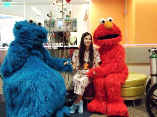 Their visit brightened up the kidsu0027 day as they danced posed for photos and gave lots of hugs and high fives. There were lit up faces and squeals of u201cElmo ...  sc 1 st  Ryan Seacrest Foundation & Cookie Monster Archives - Ryan Seacrest Foundation