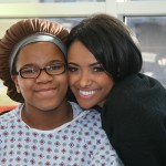 Kat Graham Spends Some Quality Time At Seacrest Studios