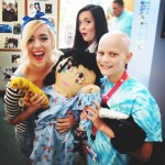 Megan and Liz Play Dress Up At Seacrest Studios