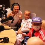 "Mark Sanchez ""Touched – Down"" at Seacrest Studios!"