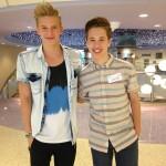 Teen Pop Sensations Cody Simpson and Ryan Beatty Perform at Seacrest Studios