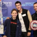 Timeflies Freestyles with Patients at Seacrest Studios in Dallas
