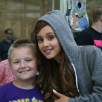 Ariana Grande Is Interviewed By Patients At Seacrest Studios!