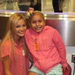 Olivia Holt Kicks It At Seacrest Studios!