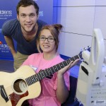 "Phillip Phillips Performs ""Gone, Gone, Gone"" At Seacrest Studios!"