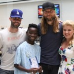 Kelly Clarkson and Maroon 5 Sing Happy Birthday at Seacrest Studios!