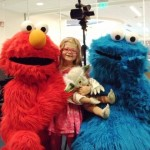 Elmo and Cookie Monster bring Sunny Days to Seacrest Studios!