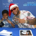 "Flo Rida ""Shows Love"" To Seacrest Studios"