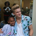 Cody Simpson Makes His Second Visit To Seacrest Studios In Atlanta!
