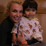 Britney Spears Surprises Patients At Seacrest Studios!