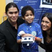 Julia Jones (Leah Clearwater) and Booboo Stewart