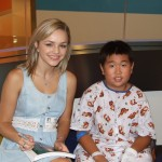 Oana Gregory Makes A Memorable Visit To Seacrest Studios