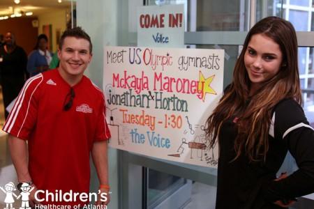 Jonathan Horton And McKayla Maroney