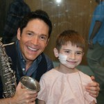Dave Koz Creates Beautiful Music At Seacrest Studios!