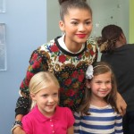 Zendaya Shakes Things Up at Seacrest Studios