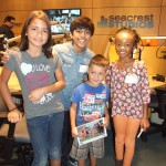 Karan Brar and Skai Jackson from Jessie Hang Out At Seacrest Studios!