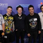 Fall Out Boy Sings Happy Birthday to Patients in Dallas!
