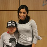 Katlynn Simone Smith Hangs with Patients at CHOC