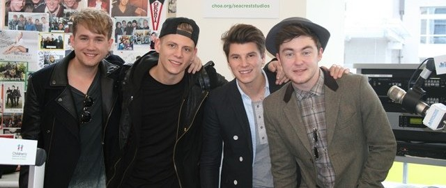 Rixton Visits Children's Healthcare of Atlanta