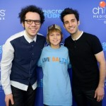 A Great Big World talks music and hairstyles during a visit to Children's Medical Center