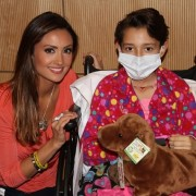 Katie Cleary Visits CHOC
