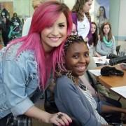 Demi Lovato Visits Levine Children's Hospital