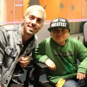 Angelo Kritikos Visits Children's Hospital of Orange County
