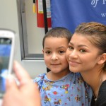 Zendaya Performs A Dance To Her Music In Seacrest Studios