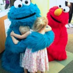 A Sunny Day at Seacrest Studios With Elmo and Cookie Monster
