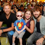 Lady Antebellum and Children's Hospital Colorado patient Owen