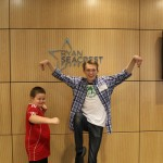 Dylan Snyder 'Kickin It' With Patients At Seacrest Studios