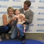 Julianne and Derek Hough Dance Their Way To Seacrest Studios
