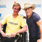Dustin Lynch Sings 'Where It's At' For Patients At Seacrest Studios