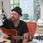 Kristian Bush Sings With Patients At Seacrest Studios