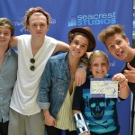 The Vamps Perform For Patients At Seacrest Studios