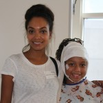 Lyndie Greenwood Visits Patients At Seacrest Studios In Orange County