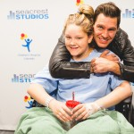 Andy Grammer Leads A Sing-Along At Seacrest Studios