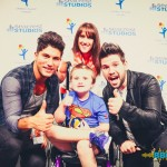 Dan + Shay Sing Along With Patients At Seacrest Studios