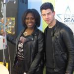 New RSF Ambassador Nick Jonas Visits Seacrest Studios