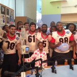 Belk Bowl Teams Score Big Points at Seacrest Studios!