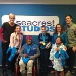 Dara Torres Interviewed By Patients In Seacrest Studios