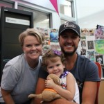 Luke Bryan and Patients at Seacrest Studios have Sing-Along