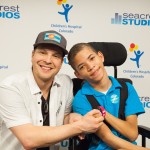 Gavin DeGraw and Musicians On Call Visit Seacrest Studios