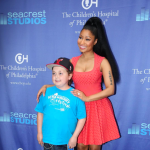 Nicki Minaj Spends Time With Patients At Seacrest Studios