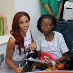 Natalie La Rose Visits Patients At Seacrest Studios Atlanta