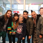 DNCE Visits Patients At Seacrest Studios Atlanta
