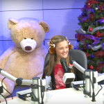 Lizzy Greene Laughs With Patients In Seacrest Studios