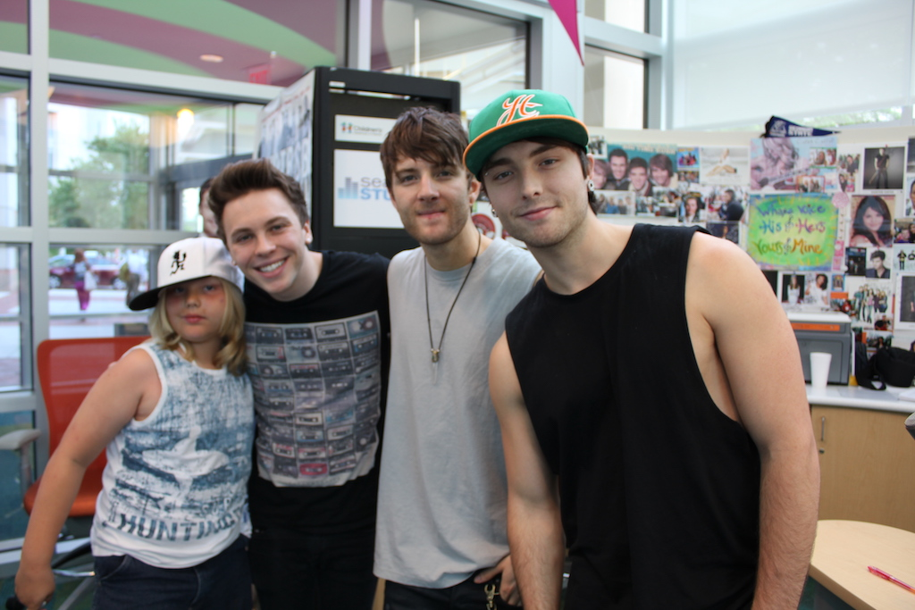 Emblem3 performs 3 of their hits for patients in seacrest studios the m4hsunfo